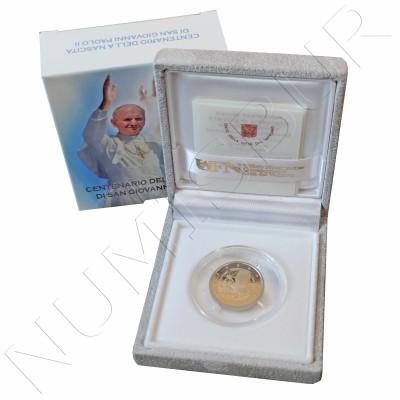 2 € VATICAN 2020 - Centennial birth of Saint John Paul II (PROOF)