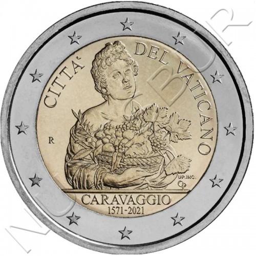 2 € VATICAN 2021 - 450 anniversary of the birth of Caravaggio