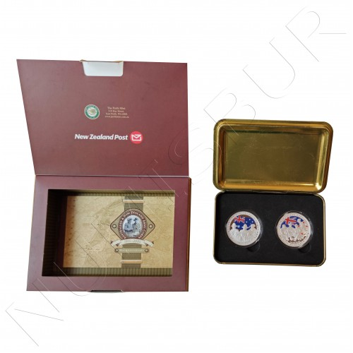 1$ NEW ZEALAND AND AUSTRALIA 2005 - 90th anniversary of the Army
