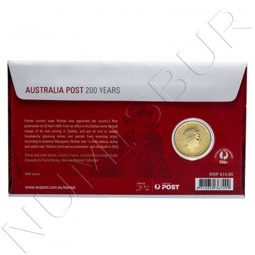 1$ AUSTRALIA 2009 - 200 years of the Australian post
