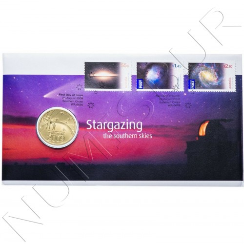 1$ AUSTRALIA 2009 - International Year of Astronomy