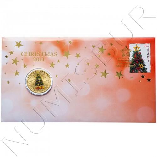 1$ AUSTRALIA 2011 - Merry Christmas