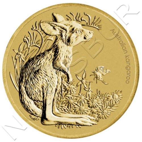"1$ AUSTRALIA 2011 - Bush Babies ""Kangaroo"""