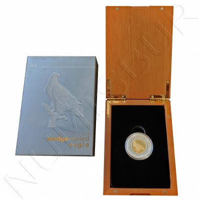 50$ AUSTRALIA 2016 - Wedge-Tailed Eagle  ½ oz gold / ½ oz silver