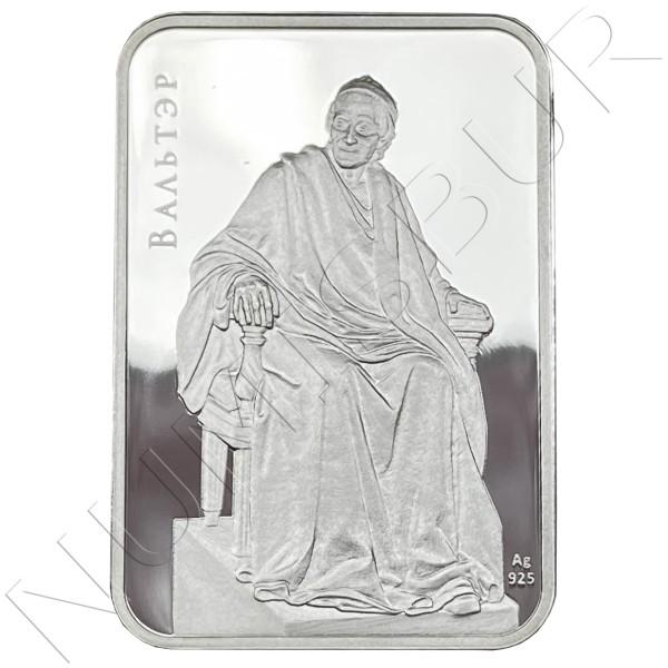 20 rubles BELARUS 2011 - Jean-Antoine Houdon - Voltaire