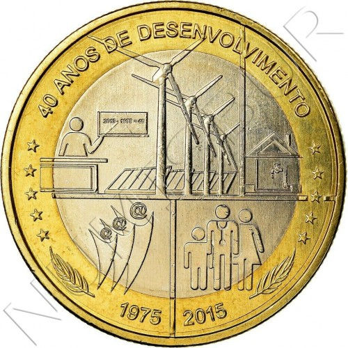 250 escudos CAPE VEDE 2015 - 40 years Independence and Development