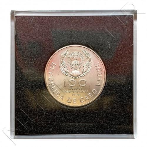 100 escudos CAPE VERDE 1990 - Papal visit