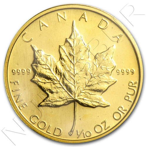 5$ CANADA 1987 - Maple leaf