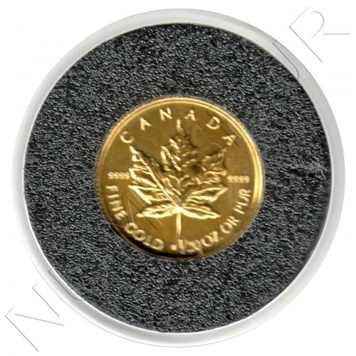 1$ CANADA 1996- Maple leaf 1/20 oz