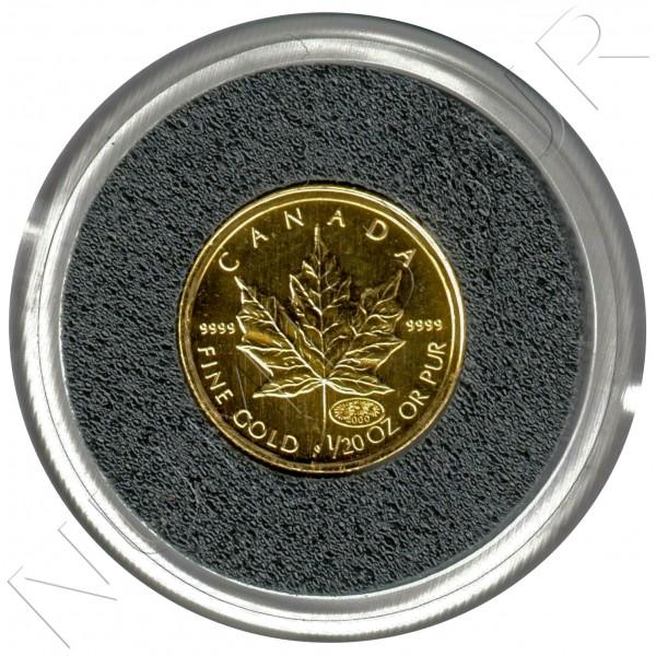 1$ CANADA 2000 - 1/20 oz Fireoworks