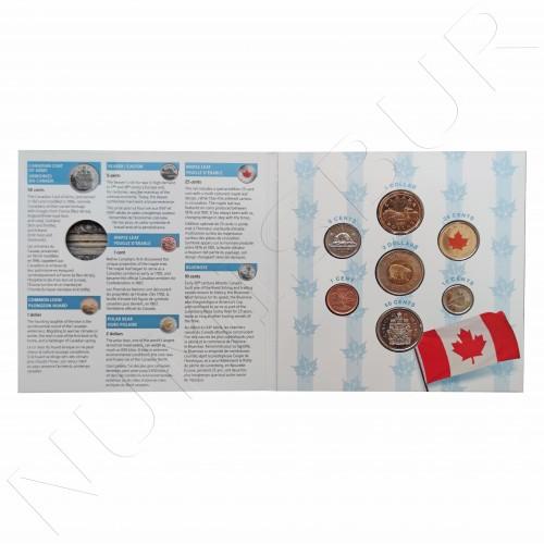 Set CANADA 2007 conmemorative