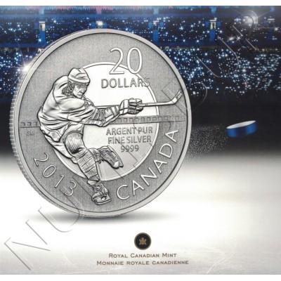 20$ CANADA 2013 - Ice hockey