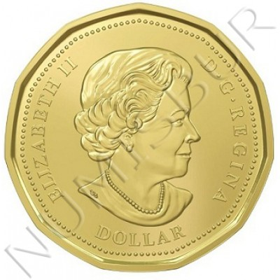 1$ CANADA 2016 - Lucky Loonie