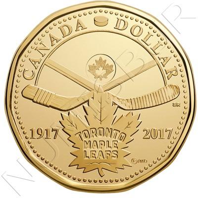 1$ CANADA 2017 - Toronto Maple Leaf