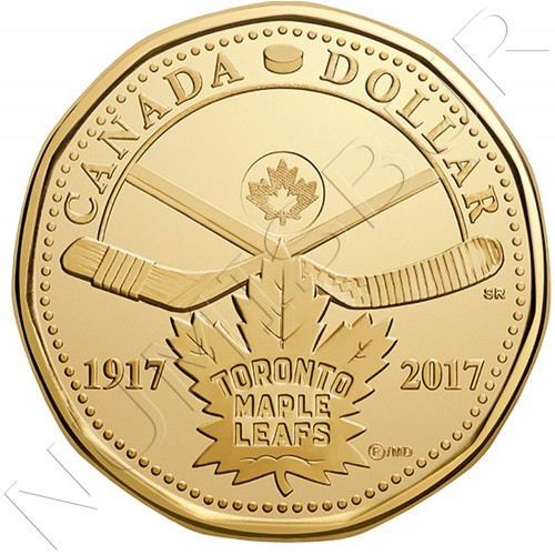1$ CANADA 2017 - Toronto Maple Leaf