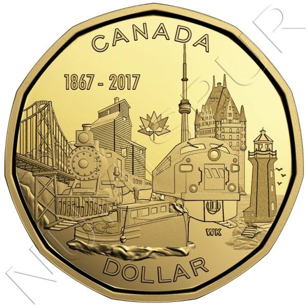 1$ CANADA 2017 - Conectando una Nacion 1867
