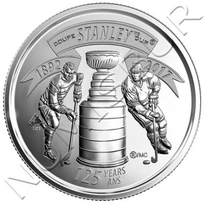 25 centimos CANADA 2017 - Stanley Cup