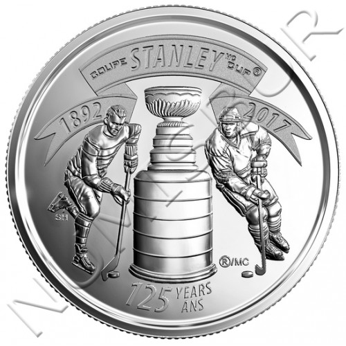 25 centimos CANADA 2017 - Stanley Cup