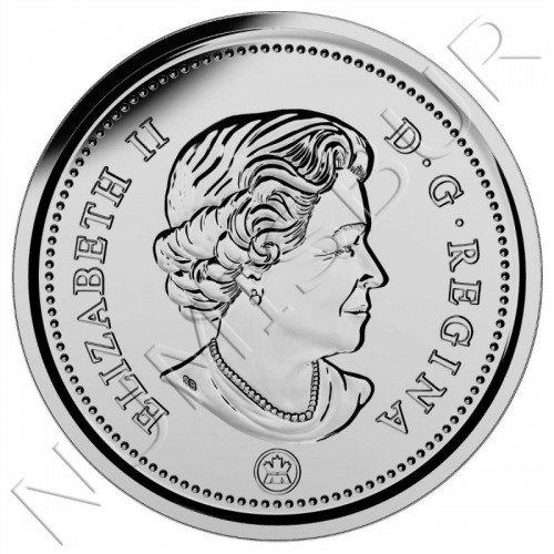 0.10$ CANADA 2017 - Living Traditions 150th Anniversary