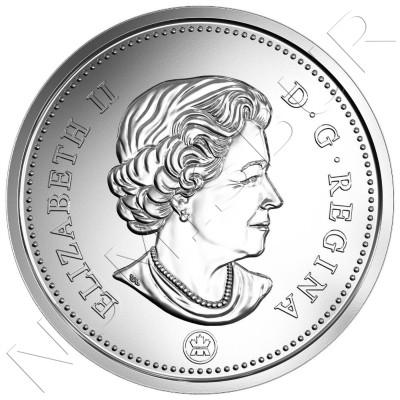 0.50$ CANADA 2017 - Escudo de armas
