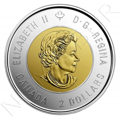 2$ CANADA 2020 - 75th Anniversary of the End of the Second World War (COLOR)