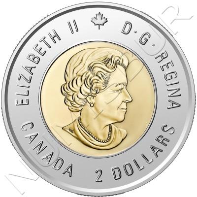 2$ CANADA 2020 - Bill Reid