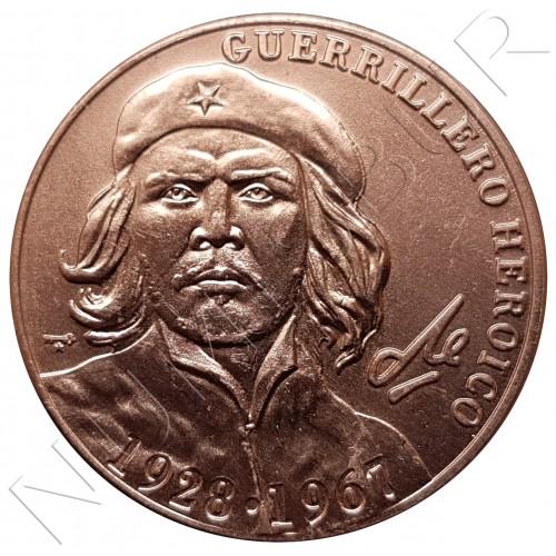 1 peso CUBA 2007 - 40 aniv. muerte de Che Guevara