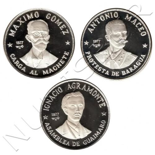 20 pesos CUBA 1977 - Figuras en la historia de Cuba