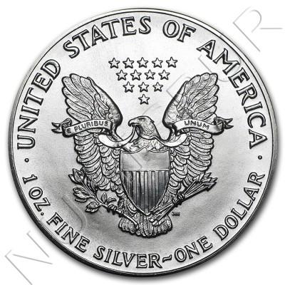 1$ USA - American Eagle (1986 - 1999)