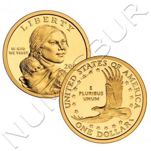 1$ USA 2000 - Eagle P