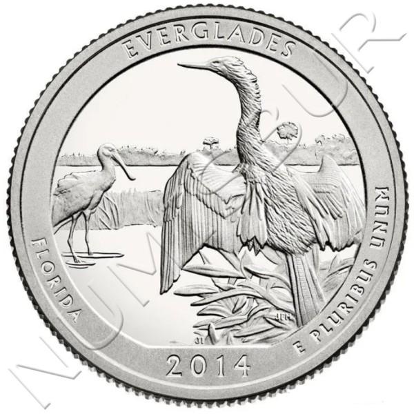 0.25$ USA 2014 - Florida