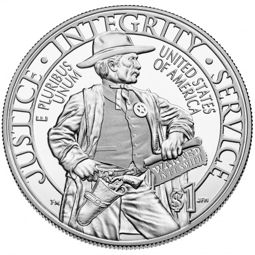 1$ USA 2015 - Marshals Service 225th anniv