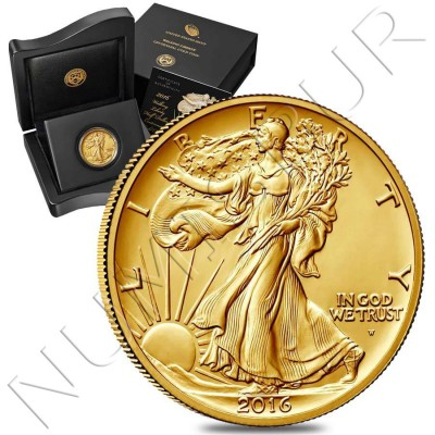 0.50$ USA 2016 - Walking Liberty 1/2 oz