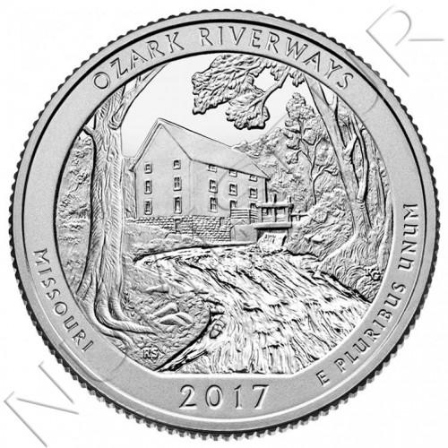 0.25$ EEUU 2017 - Missouri