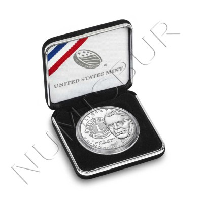 1$ EEUU 2017 - Lions Club internacional Centennial PROOF