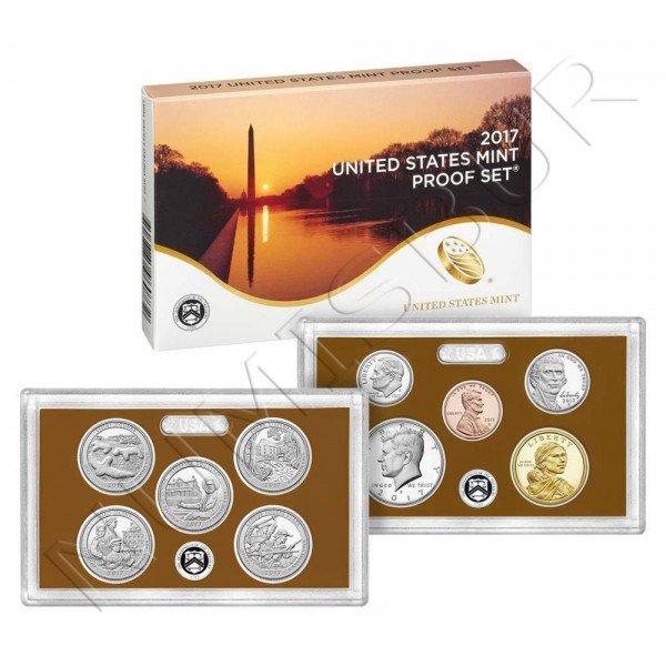 Set ESTADOS UNIDOS 2017 - PROOF