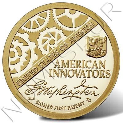 1$ EEUU 2018 - American Innovations Estatua Libertad