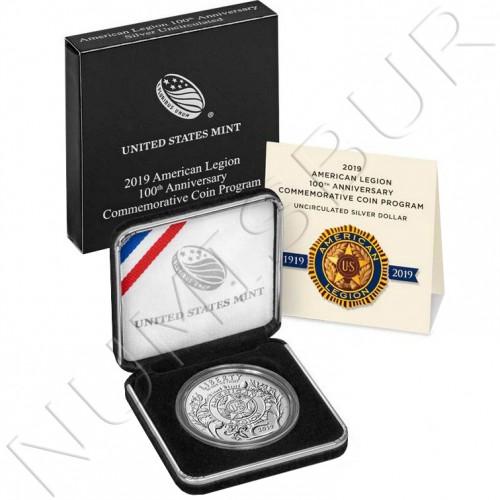 1$ USA 2019 - 100 anniv. US Legion UNC