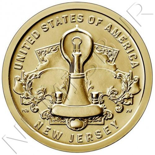 "1$ USA 2019 - American Innovations ""New Jersey"""