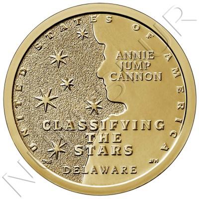 1$ USA 2019 - Annie Jump Cannon Delaware