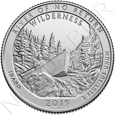 0.25$ USA 2019 - River of No Return