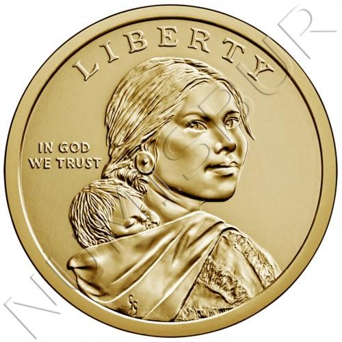 1$ USA 2020 - Elizabeth Peratrovich