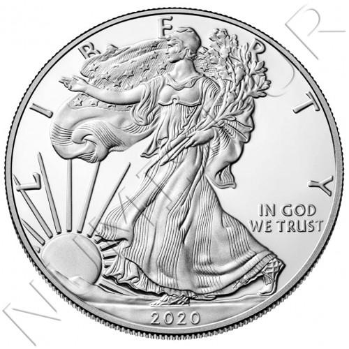 1$ USA 2020 - American Eagle