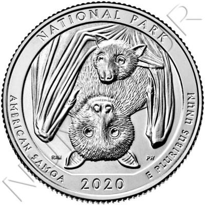 0.25$ USA 2020 - American Samoa