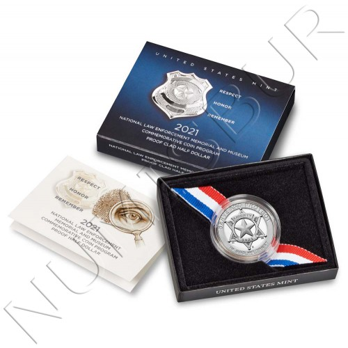 0.50$ USA 2021 - National Law Enforcement Memorial and Museum (UNC)