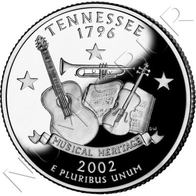 0.25$ EEUU 2002 - #16 Tennessee