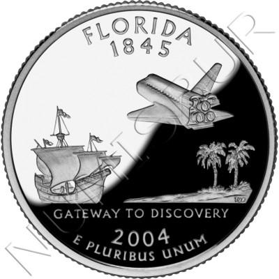 0.25$ EEUU 2004 - #27 Florida