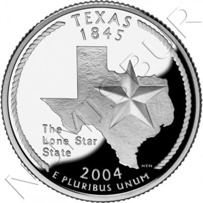 0.25$ EEUU 2004 - #28 Texas
