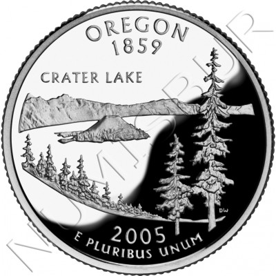 0.25$ EEUU 2005 - #33 Oregon