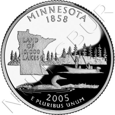 0.25$ EEUU 2005 - #32 Minnesota